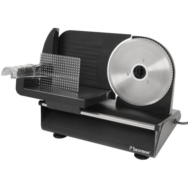 Bestron Skärmaskin 150 W rostfritt stål AFS9003 Svart