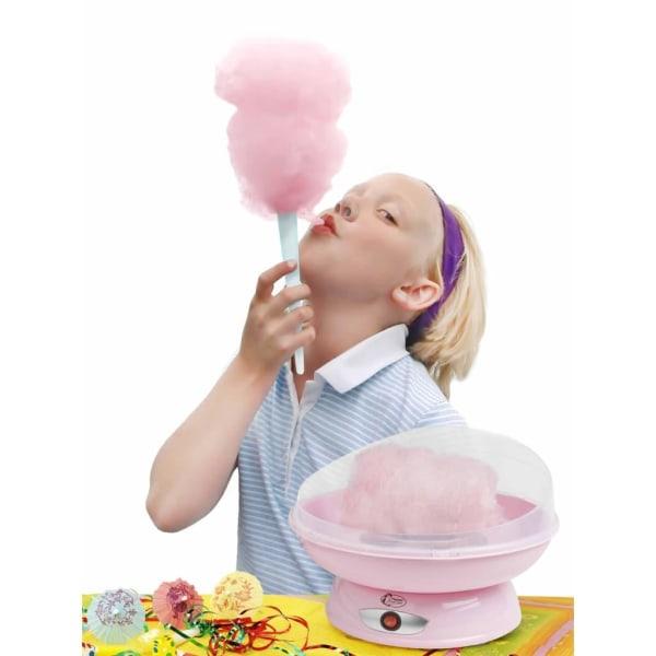 Bestron Sockervaddsmaskin ACCM370 rosa plast Rosa