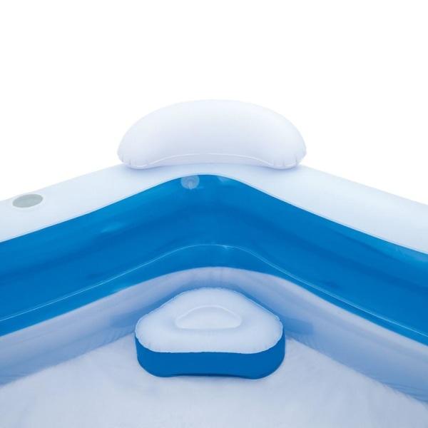 Bestway Barnlekpool blå 213 x 207 x 69 cm 54153 Blå