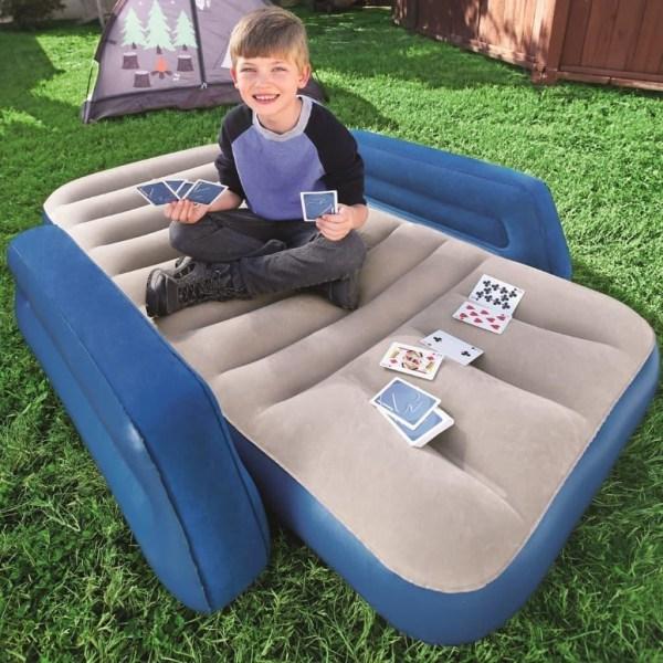 Bestway Luftmadrass för barn blå Blå