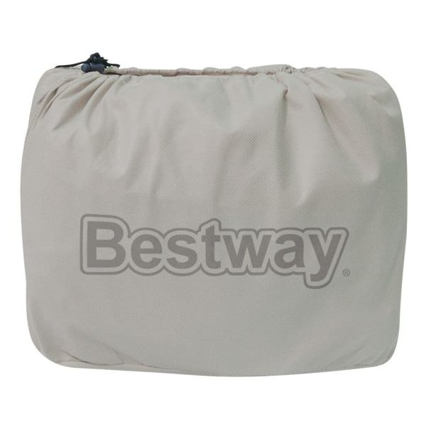 Bestway Luftmadrass med inbyggd luftpump Fortech queen-size