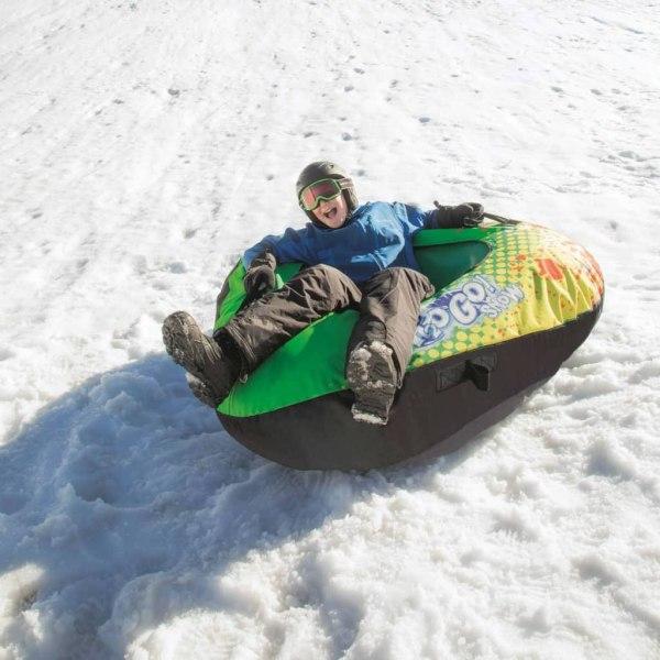 Bestway Pulka med tygöverdrag Winter Rush 142 cm 39053 Flerfärgsdesign
