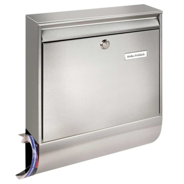 BURG-WÄCHTER Brevlåda Borkum-Set 38770 Ni rostfritt stål silver Silver