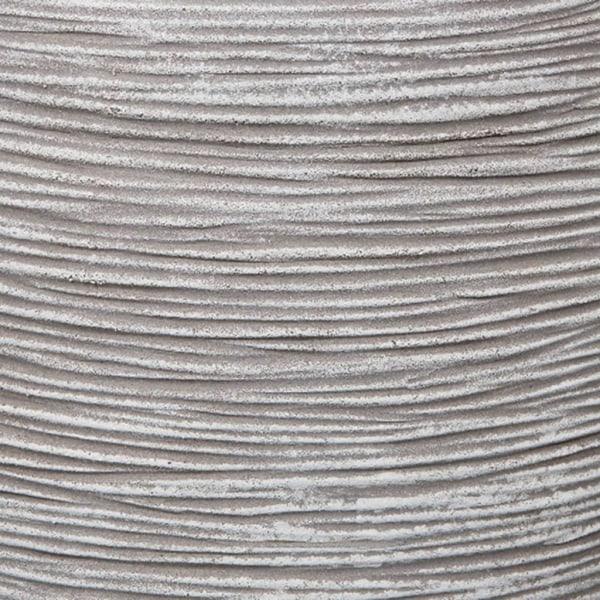 Capi Blomkruka Nature Rib 35x34 cm elfenben KOFI932 Vit