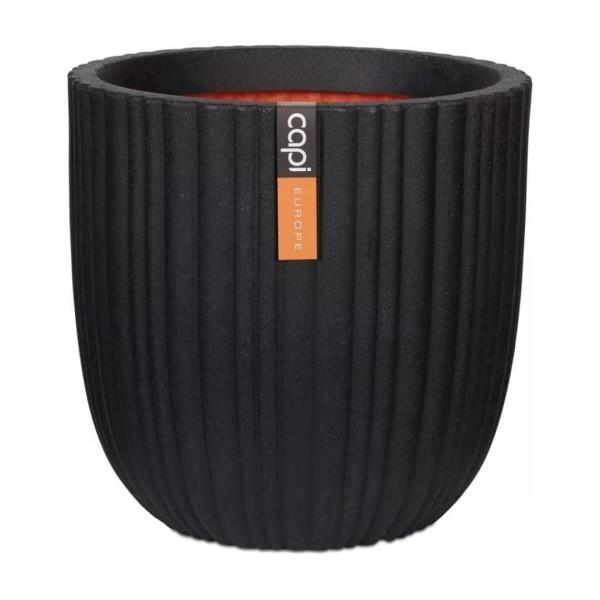 Capi Blomkruka Urban Tube 54x52 cm svart KBLT935 Svart
