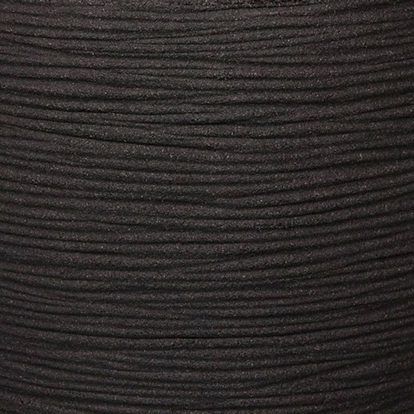 Capi Vas Nature Rib elegant låg 46x58 cm svart KBLR783 Svart