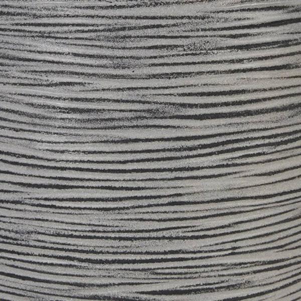 Capi Vas Nature Rib rund 62x48 cm antracit KOFZ271 Grå