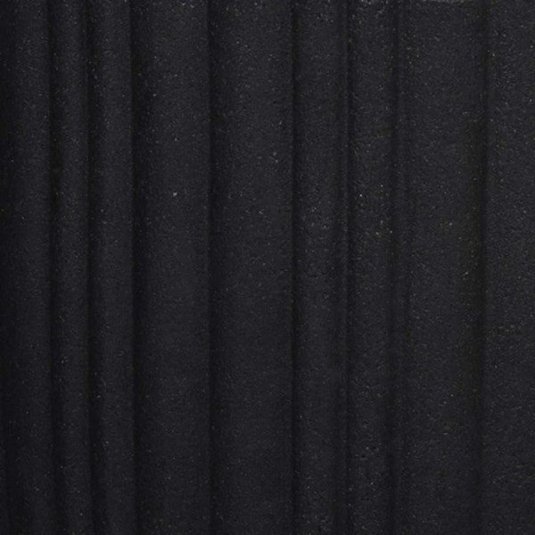 Capi Vas Urban Tube avsmalnande 40x40 cm svart KBLT801 Svart