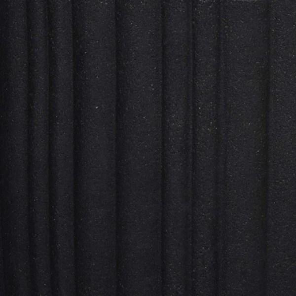 Capi Vas Urban Tube elegant låg 34x46 cm svart KBLT782 Svart