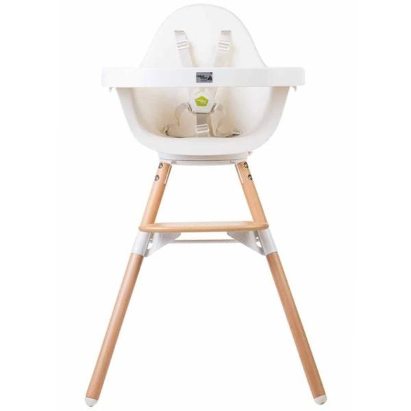 CHILDHOME 2-i-1 Barnstol Evolu One.80° vit CHEVO180NW Vit