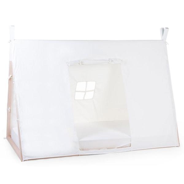CHILDHOME Sängöverdrag tipi 90x200 cm vit Vit