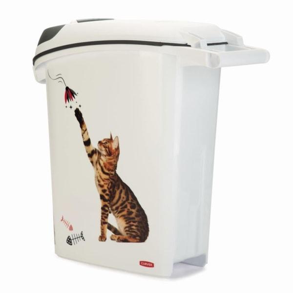 Curver Foderbehållare katt 23 L Vit
