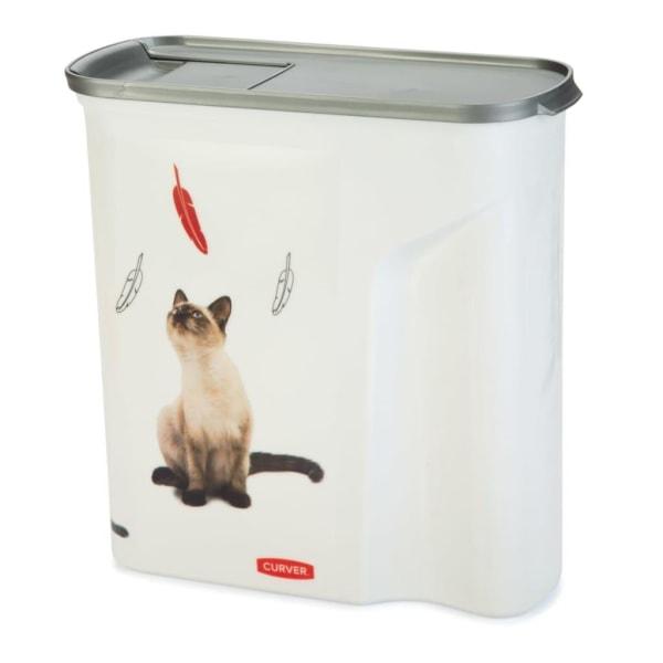 Curver Foderbehållare katt 6 L Vit