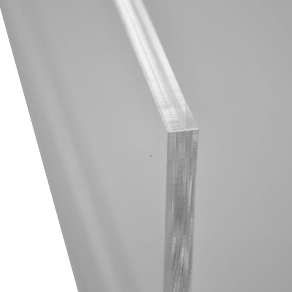 DESQ Monitorställ akryl transparent 30,5 x 23 x 12 cm Transparent