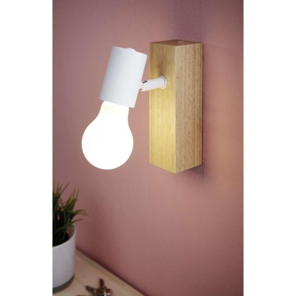 EGLO Spotlight LED Townshend 3 beige och vit Beige