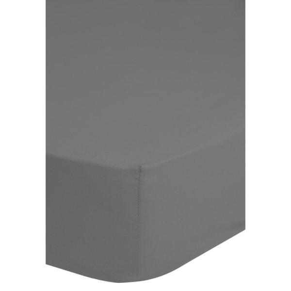 Emotion Dra-på-lakan jersey 90/100x220 cm grå 0200.03.43 Grå