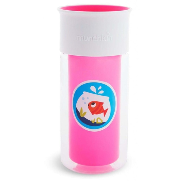 Munchkin Isolerad kopp personlig Miracle 360° rosa Rosa