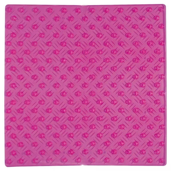 Sealskin Halkmatta Pleasure PVC 54 x 54 cm rosa 315142850 Rosa