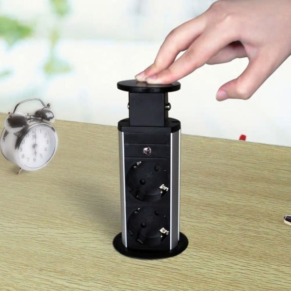 vidaXL Grenuttag utdragbart Tower Socket