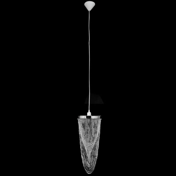 vidaXL Kristallkrona 22 x 58 cm Transparent