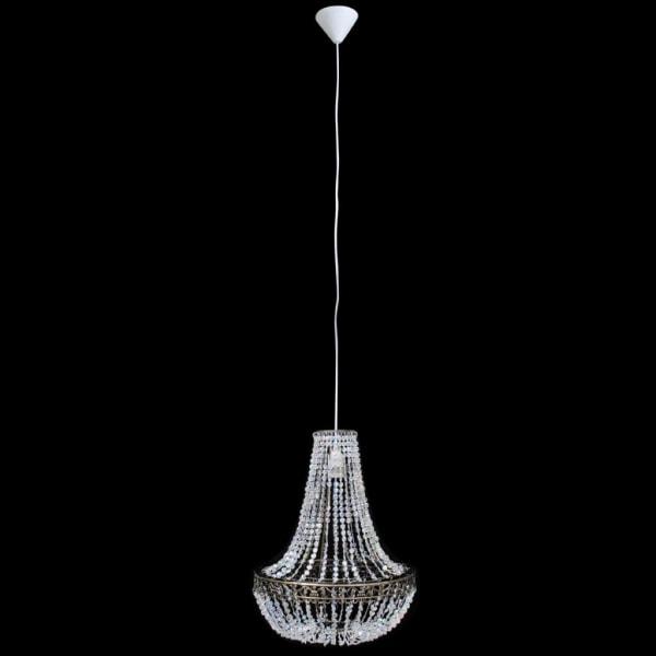 vidaXL Kristallkrona 36,5 x 46 cm Transparent