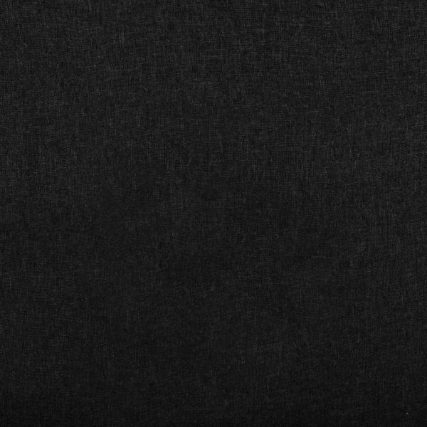 vidaXL Reclinerfåtölj svart tyg Svart