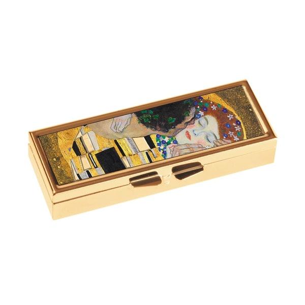 Pillerask med spegel, Gustav Klimt, Kyssen. 7-dagars.