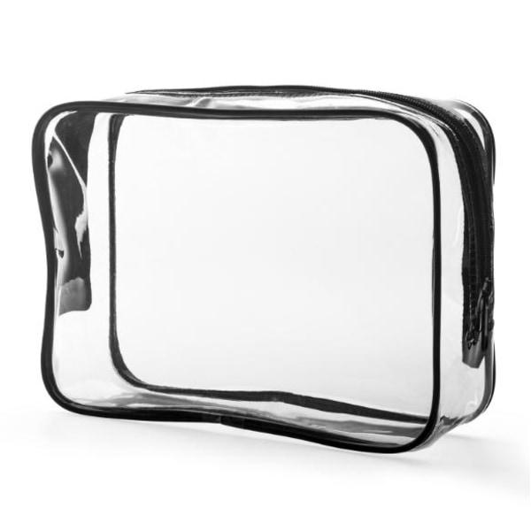 Köp Necessär genomskinlig transparent sminkväska clear bag (Liten)   Fyndiq