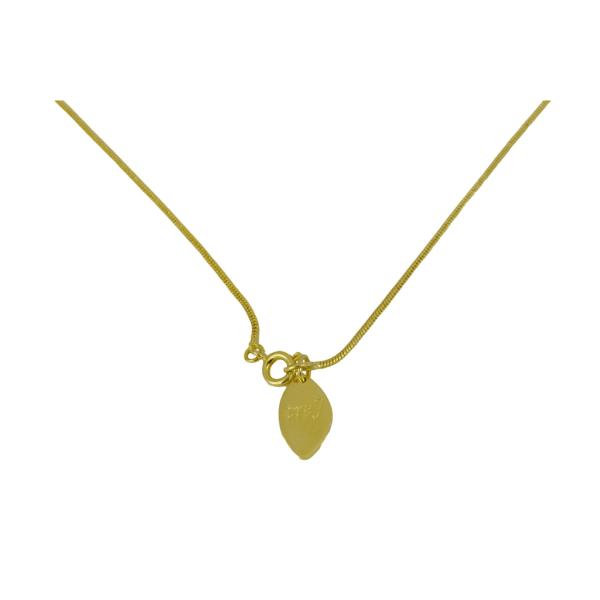 Roalty Gold - Silverhalsband, med guldplätering - Trej