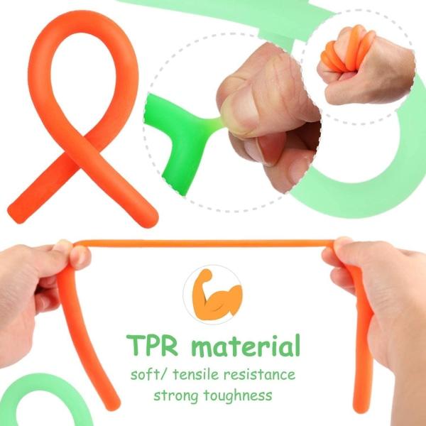 24st, Fidget Toys Set för barn och vuxna, festfavörer,sensoriskt flerfärgad