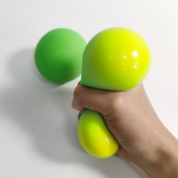 Fidget sensoriska fidget leksaker, Pressa bollen, grön grön 1