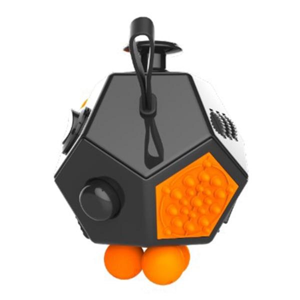 Fidget Cube 12 sidor stress kub, anti stress leksak, avkoppling