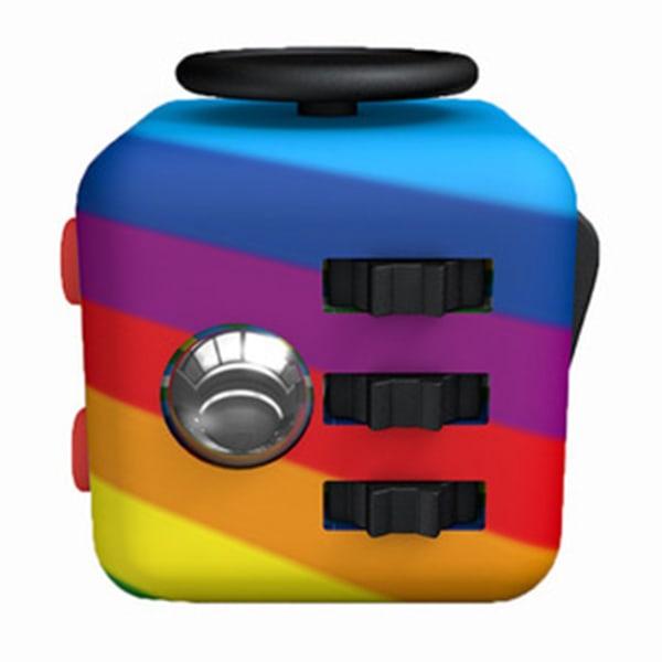 Fidget Cube Fidget Toy, Sensory Cube, Rainbow 1