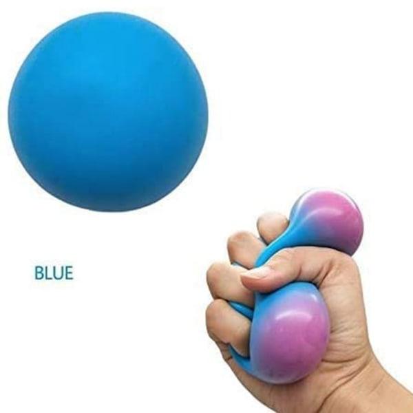 3st, Fidget sensoriska fidget leksaker, Pressa bollen flerfärgad 3