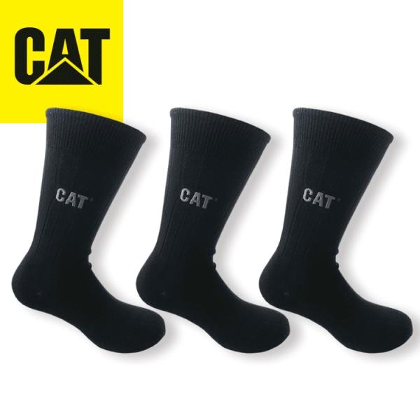 CAT 3-P DRESS STRUMPOR 41-46 SVARTA