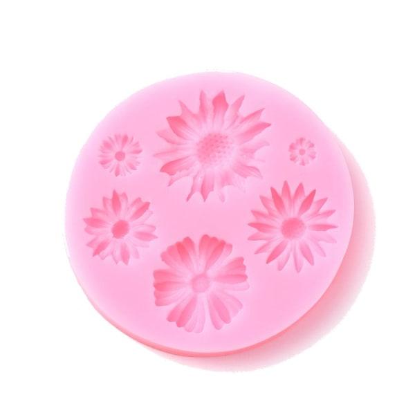 1 silikon gjutform göra egna blommor
