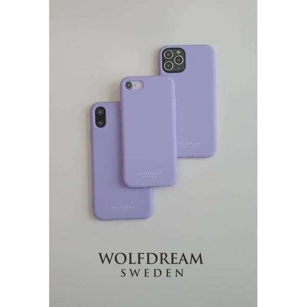 Lavendel Purple -MOBILSKAL I TPU TILL IPHONE 12MINI lila