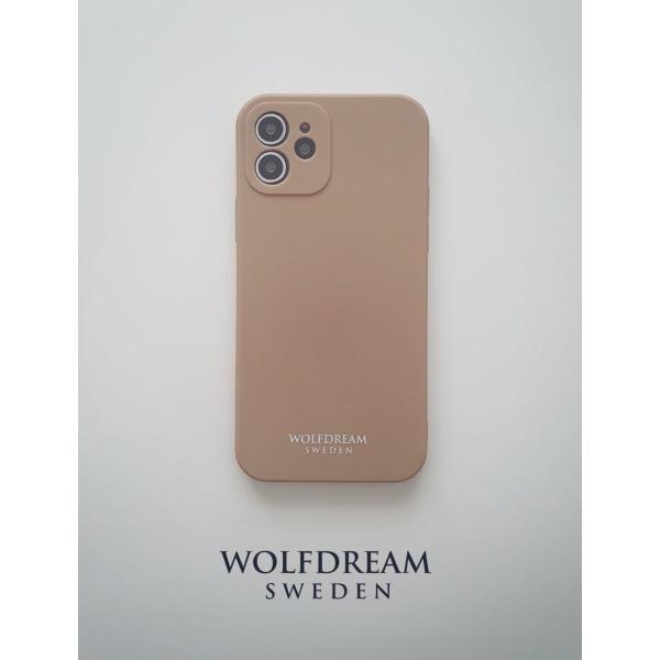 Mocha Beige -MOBILSKAL I TPU TILL IPHONE 12MINI beige