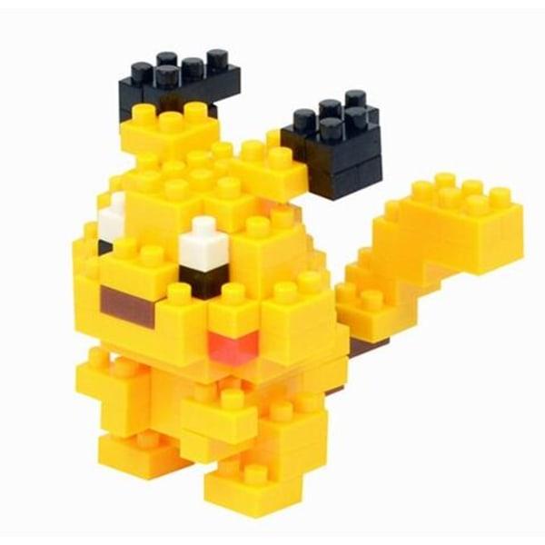 3D pyssel POKEMON - 12 st olika modeller - Pikachu Pikachu