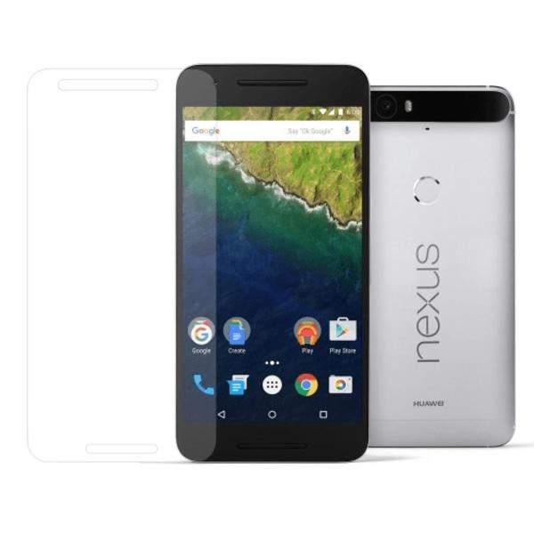 2-Pack Huawei Nexus 6P Härdat Glas Skärmskydd 0,3mm Transparent