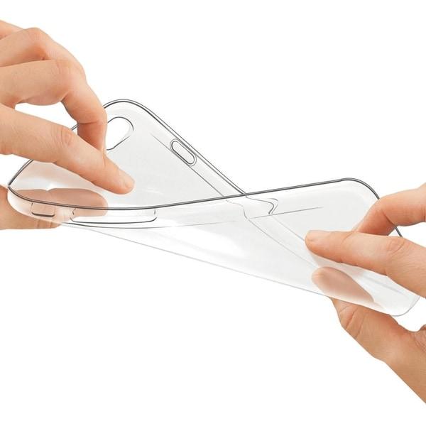 HTC U11 Transparent Mjuk TPU Skal Transparent