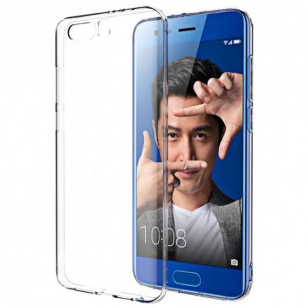 Huawei Honor 9 Transparent Mjuk TPU Skal Transparent