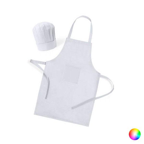 Förkläde och kockmössa för barn (2 delar)