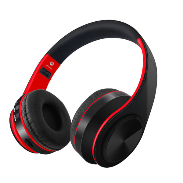 Multifunktion Stereo Bluetooth Headset med Mic, Aux, MP3 player blå