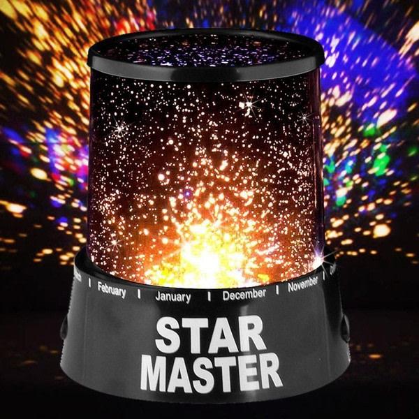 Stjärnprojektor med LED Star Master
