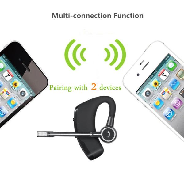 V8 Bluetooth Headset med Long Standby till iOS & Android