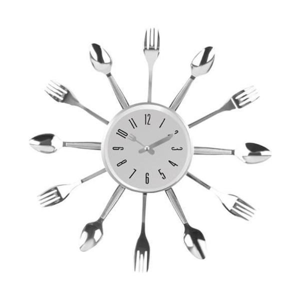 Väggklocka för Köket Bestick Design