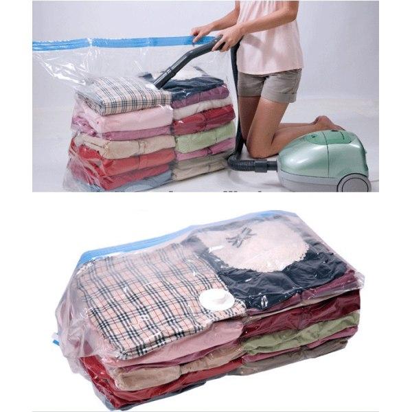 Vakuumpåse för förvaring utav kläder, täcken, kuddar Vakuumpåsar