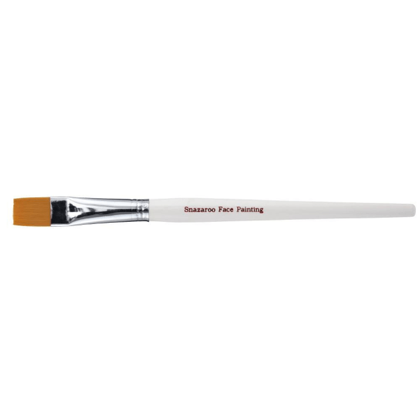 Ansiktspensel Snazaroo Professional, Bred platt (large flat) multifärg