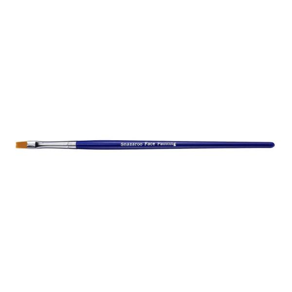 Ansiktspensel Snazaroo Professional, Fin platt (fine flat), 1/fp multifärg